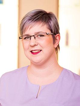 Pia Bangert, Staatlich anerkannte Podologin, Dozentin für Podologie, Praxisanleiterin in der Praxis für Podologie Eickmann & Bangert in Hamm